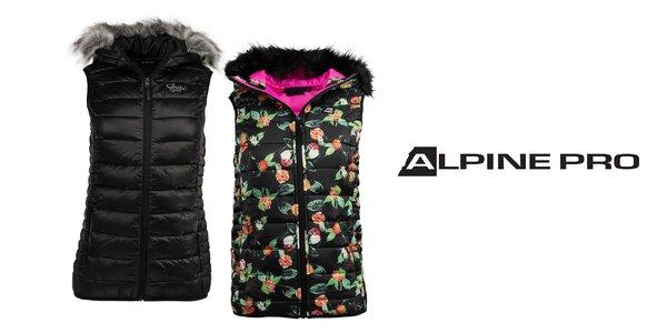 Pohodlné a hrejivé dámske vesty Alpine Pro