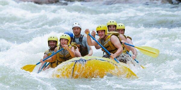 Rafting na umelom vodnom kanáli v Liptovskom Mikuláši