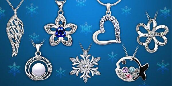 Krásne šperky s kryštálmi Swarovski a zirkónmi