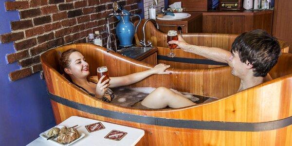 Wellness pobyt v Poděbradoch: pivný kúpeľ a relaxačné procedúry