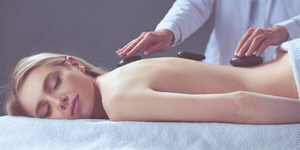 Uvoľňujúca masáž chrbta či celého tela