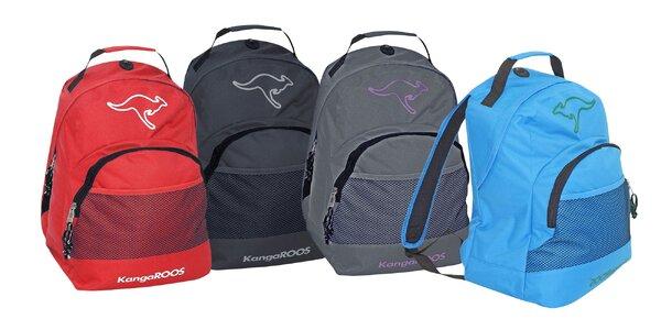Atraktívne batohy značky KangaROOS v 5 farbách