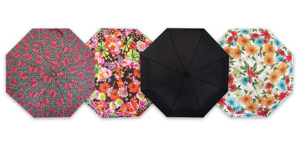 Pánske a dámske skladacie dáždniky RealStar