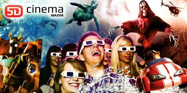 5D cinema MAXIM