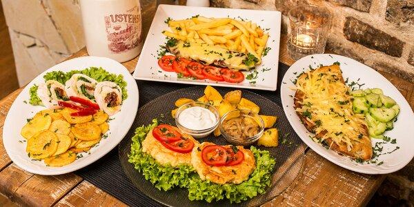 Vyberte si zo 4 skvelých jedál v centre mesta