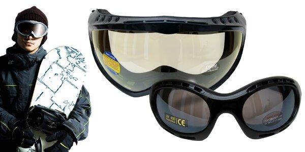 Okuliare na bežky a lyžiarske okuliare Cortini