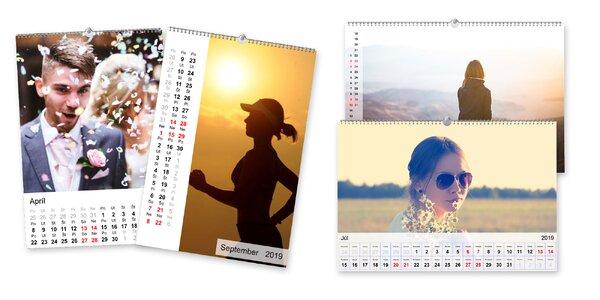 Fotokalendáre z vlastných fotografií, na výber z viacerých druhov