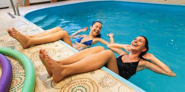 Vstupy na cvičenie vo vode aquafitness