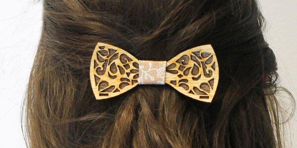 Slovenská ručne vyrobená spona do vlasov
