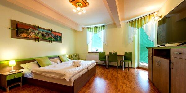 Wellness oddych v zrekonštruovanom hoteli Víchrica vo vysokých Tatrách