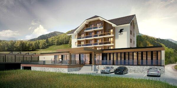 Novozrekonštruovaný Wellness & Ski Hotel Impozant**** v srdci Valčianskej doliny