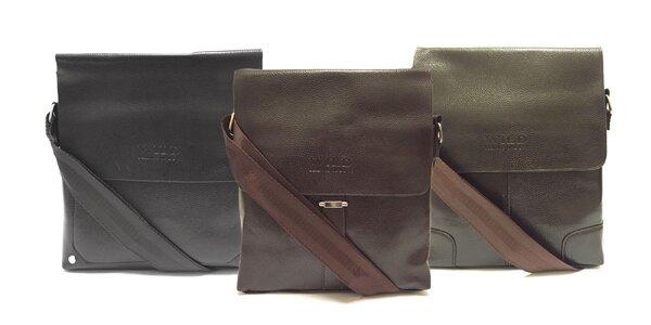 Elegantná pánska taška