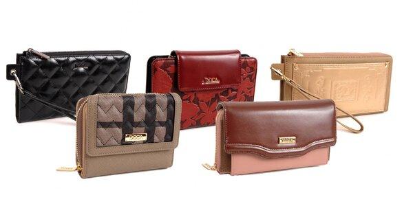 Elegantné dámske peňaženky Doca v 7 dizajnoch