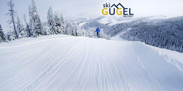 Celodenný skipas do lyžiarskeho strediska SKI CENTRUM GUGEL MLYNKY
