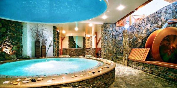 Malý kúsok raja v Kontakt Wellness Hotel**** s neobmedzeným wellness