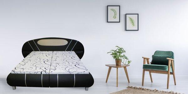 Čalúnené postele a váľandy - na výber z množstva poťahových látok
