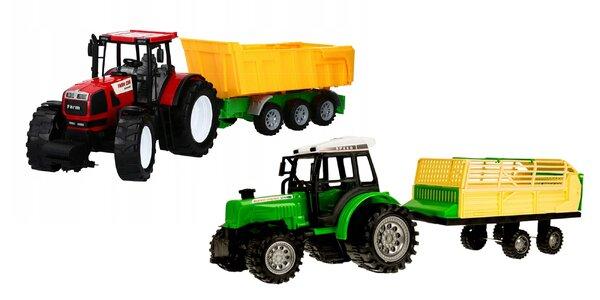 Fantastický detský traktor s vlečkou