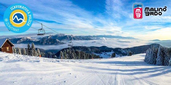 Celodenný skipas do lyžiarskeho strediska Malinô Brdo