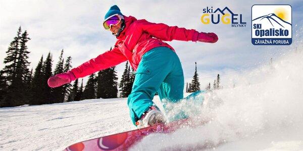 Celosezónny skipas v Ski Opalisko a Ski Gugel