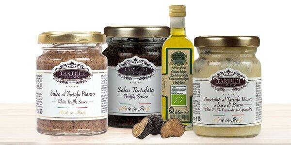 Hľuzovkové špeciality: Olej, pasta aj celá hľuzovka