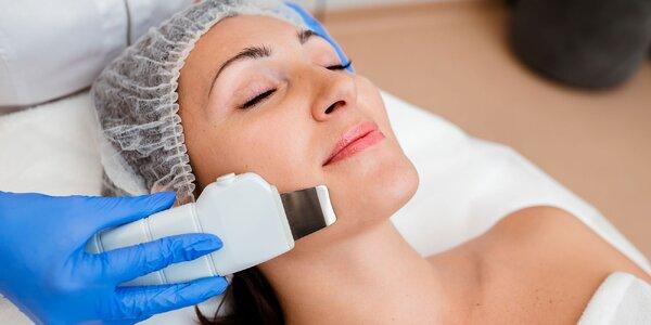 Mikrodermabrázia, ultrazvuk i ošetrenie pleti