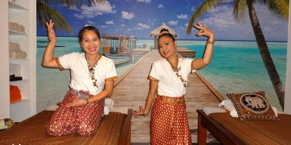 Thajská masáž celého tela či vybranej časti
