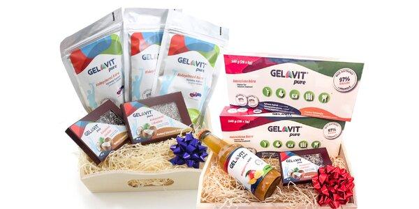 Kolagénová kúra v darčekovom balíčku Gelavit!