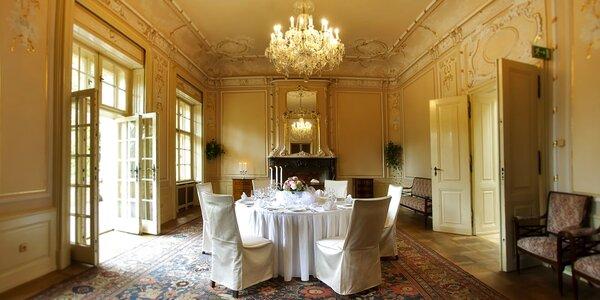 Historická vila v Prahe: možnosť romantickej večere aj prehliadky hradu