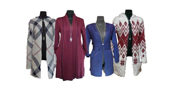 Štýlové dámske kardigany (4 modely)
