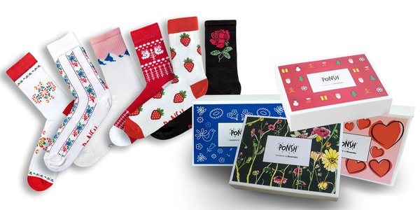 Slovenské ponožky v originálnych baleniach
