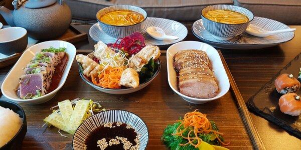 Japonské degustačné menu pre 2 osoby v SUSHIHANIL