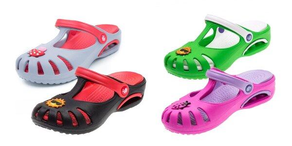 Detské papuče Clogs v rôznych farbách
