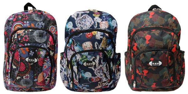 Farebné batohy OR & MI do školy aj na šport