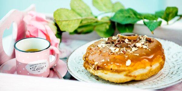 Vychutnajte si donut a kávu v La Donuteria