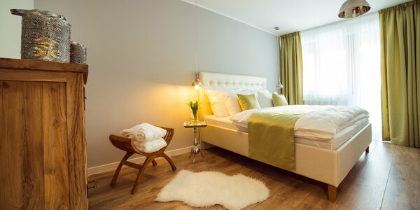 Romantický pobyt v súkromnej rezidencii s neobmedzeným privátnym wellness