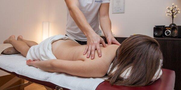 Rôzne druhy švédskych relaxačných masáží