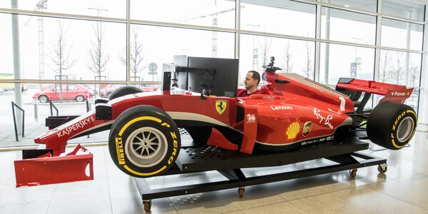 Jazda na simulátore formuly F1