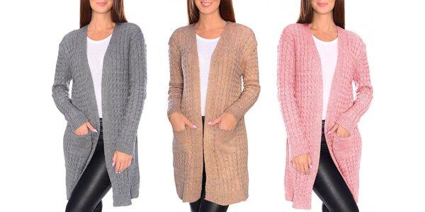 Elegantné dámske pletené kardigany v 8 farbách