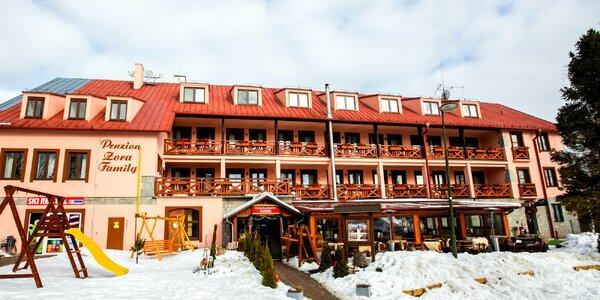 Zimný víkendový pobyt pod Tatrami v penzióne Zora family