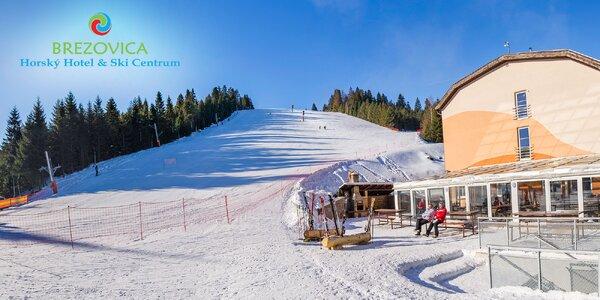 Celodenný aj 4-hodinový skipas do lyžiarskeho strediska SKI CENTRUM BREZOVICA