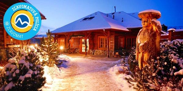 Zima a Jar v Sojka Resort pri Bešeňovej s neobmedzeným wellness