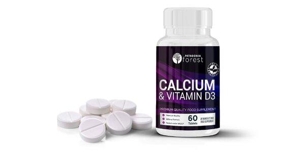 Naštartujte svoju imunitu tabletami s vitamínom D3 a Calciom