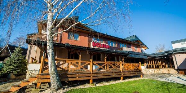 Oddychový pobyt v penzióne Dolina s novovybudovaným wellness