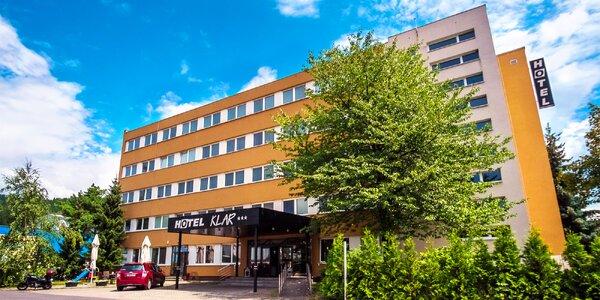 Pobyt na Liptove v Hoteli Klar*** s možnosťou aquaparku