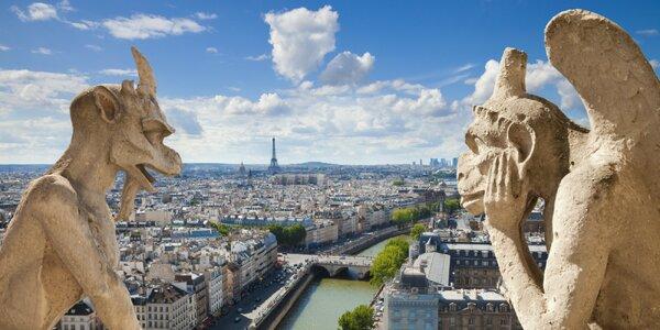 Romantický Paríž: Notre Dame, Louvre, Eiffelova veža