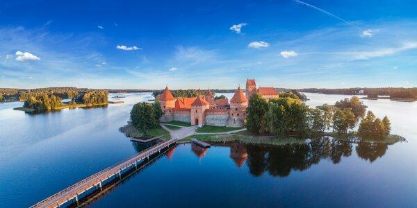 Okruh Pobaltím - Kaunas, Riga, Tallin aj Vilnius