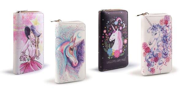 Dámska peňaženka so štýlovým dizajnom