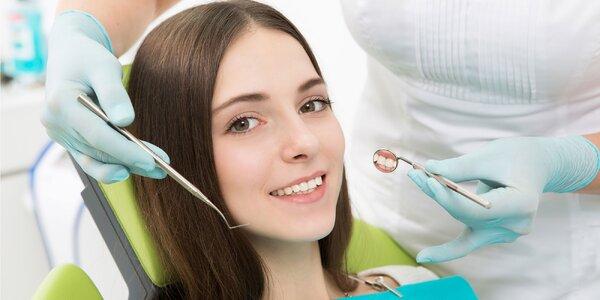 Dentálna hygiena s pieskovaním a RTG snímkou