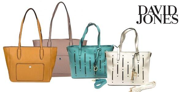 Dámske kabelky David Jones: dva štýly v rôznych farbách