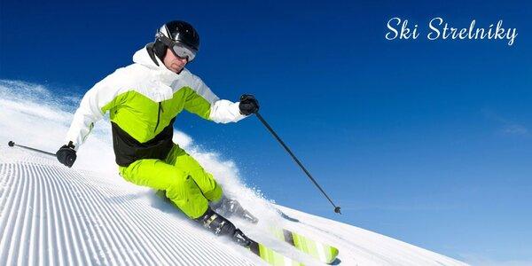 Celodenný skipas do lyžiarskeho strediska SKI Strelníky